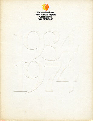 National Airlines 1974 Annual Report