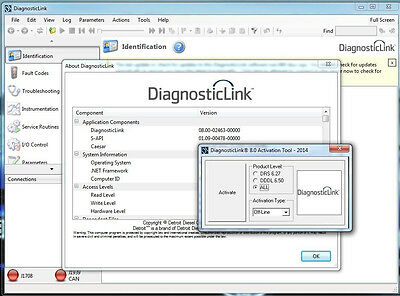 Detroit Diesel Diagnostic Link 8 (DDDL 8.0)  Full PACK