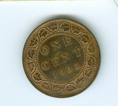 Canada 1903 Large Cent--Circulated