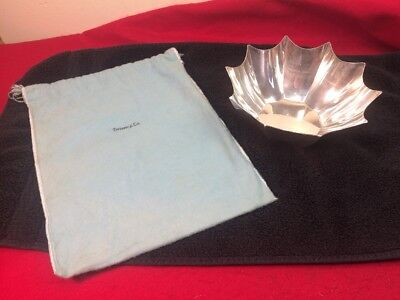 "Vintage Tiffany & Co Makers Sterling Silver Bowl 8""x3"" 15 Oz #25238 Beautiful!"