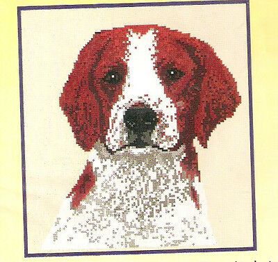 Irish Red and White Setter Counted Cross Stitch Complete Kit LAST ONE!