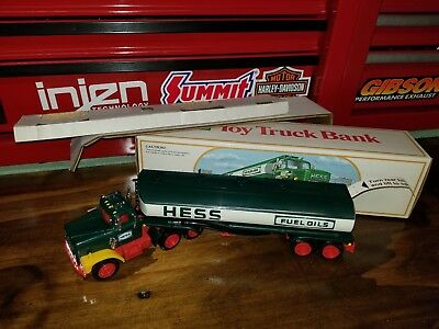 1984 Hess Fuel Oil Tanker With Bank In Box With Inserts P2
