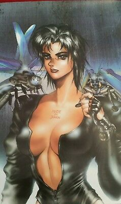 Lot of 4 Ghost N Shell Anime Posters Major Motoko Kusanagi Masamune Shirow