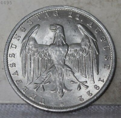 """1922-A German 3 Marks """"BU"""" *Free S/H After 1st Item*"""