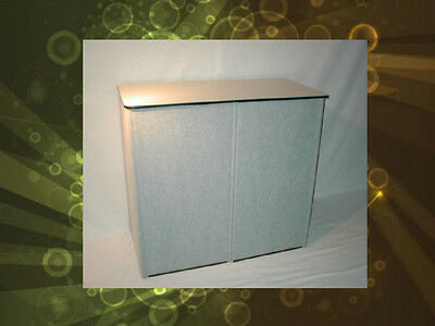 Skyline Tradeshow Carry Shipping Case Podium Kit Holds Popups Trade Show