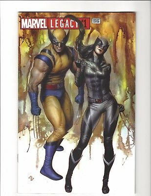 Marvel Legacy #1 Adi Granov Exclusive Variant LTD Wolverine X-23 Marvel Comics