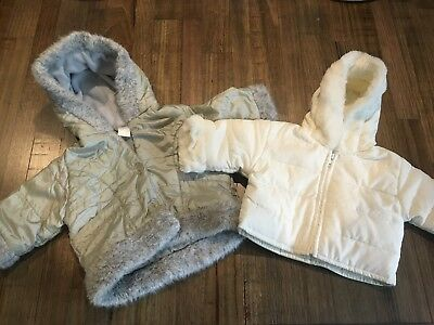Baby Girls Winter Jackets Size 00-0