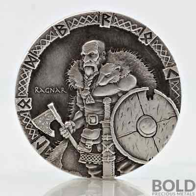 2015 2 oz .999 Silver Scottsdale Viking Series - Ragnar