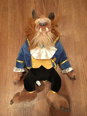Disney Store Original Beauty and the Beast Beast 23inch pllush doll EXCELLENT C