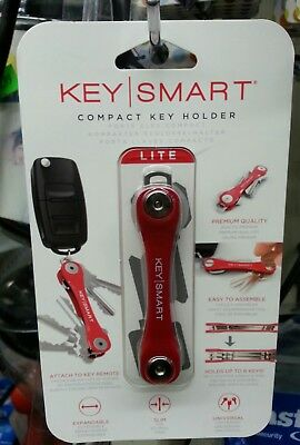 RED  Keysmart Compact Expandable Key Holder - Authorized ACE Hardware Dealer