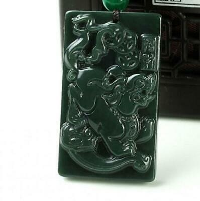 China 100% Natural Nephrite Hetian Green Jade Pixiu Coins Wealth Jade Pendant