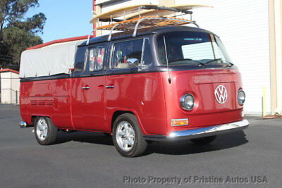 1968 Volkswagen Bus/Vanagon Pick-up Double Cab 1968 VW Pick-up double cab resto mod, no rust or accidents. Drives great!