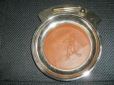 Vintage Baseball Ashtray Or Money Tray