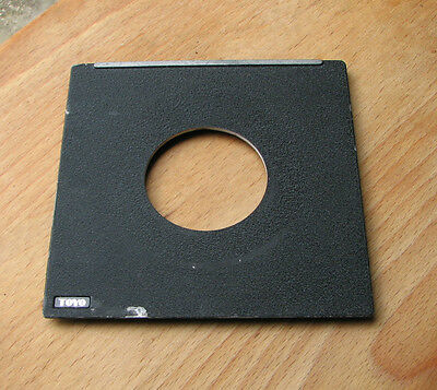 genuine Toyo field  5x4  45A  fit   lens board 110mm square 44.25mm hole used