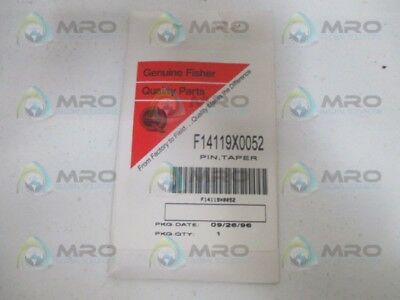 Fisher F14119X0052 Taper Pin *new In Original Package*