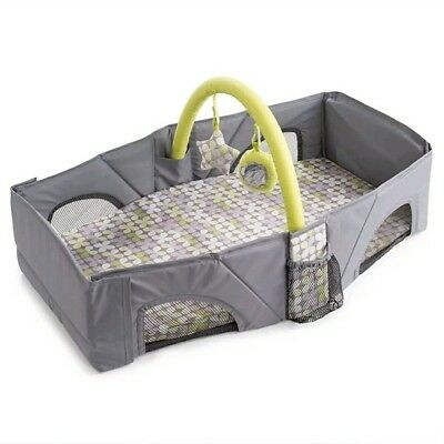 Summer Infant Baby Travel Bed Easy Fold Nap Diaper Changing Station Carry Bag