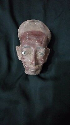 RARE ANTIQUE ANCIENT EGYPTIAN Queen Meritaten Head Akhenaten 1365-1320bc