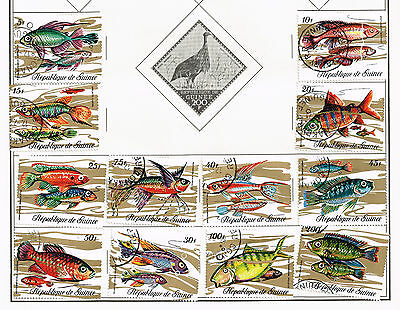 192 Guinea 1969 - 1986 stamps