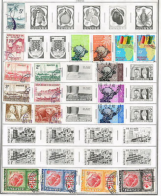 105 Guinea 1959 - 1969 stamps