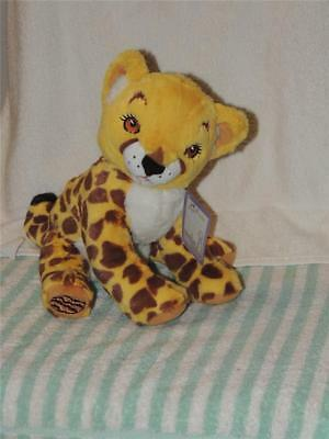 "Girl Scouts Cheetah Plush ""Amaze"" Little Brownie Bakers 12"" Cookie On Foot TAG"