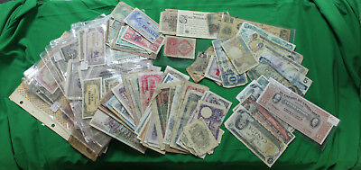 Collection of World Wide Currency Collection Many Military Payments Certificates