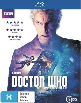 DOCTOR WHO Bluray  - Complete Series 10 ( 6 discs ) BRAND NEW & SEALED