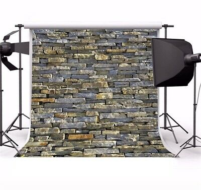 Vintage Brick Wall 10x10ft Theme Photo Backdrops Vinyl Photography Backgrounds