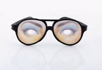 Halloween Disguise Funny Eyes Glasses Tricky Fancy Costume Spoof Toy For Women