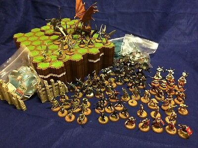 Heroscape Lot / Warhammer/Dungeons and Dragons/D&D/Miniatures/RPG