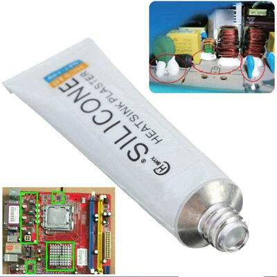 HC-910 Silicone Thermal Conductive Adhesive Glue Tube Heatsink Plaster 10g