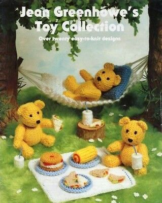 Jean Greenhowe's Toy Collection - Pre-loved - Over twenty easy to knit designs.