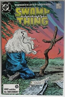 1986 Swamp Thing #55   -    F                   (Inv15658)