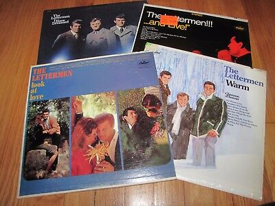 The Lettermen - Collection Of The Lettermen Records - Lot Of 4 Lps