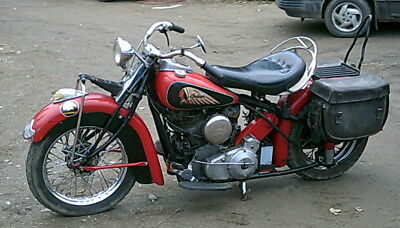 Indian: Chief 1940 Indian Chief