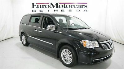 2012 Chrysler Town & Country 4dr Wagon Limited 4dr Wagon Limited 2012 chrysler town and country fwd black leather used wagon mi