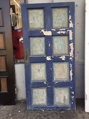 """Front door Spanish Style  With Hardware Old 1920's 72-1-2 X 35"""""""