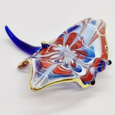 TURTLE Color Handmade Blown Blowing Glass Art Animal Cute Fancy Collectible gift