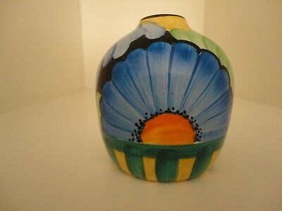 Grays  Hand Painted Floral Small Vase