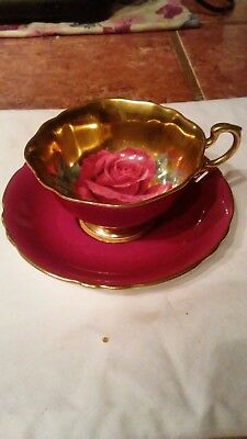 Vtg. Paragon Signed Tea Cup And Saucer Fine Bone China