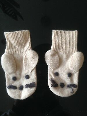 Stella McCartney Baby Mouse Gloves 18/24 months