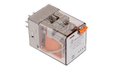 Finder DPDT Plug In Non-Latching Relay, 48V ac Coil 10 A