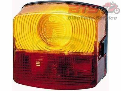 Heckleuchte links motorcycle tail light / rear - left Hella 2SD 003 182-051