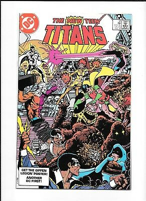 Teen Titans #37 High Grade (9.4/9.6) Perez Dc