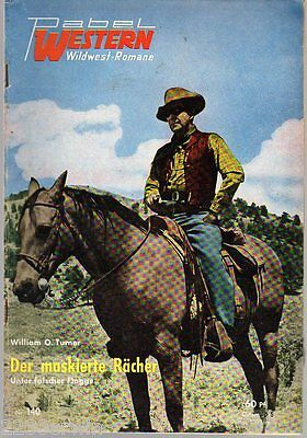 PABEL WESTERN Wildwest-Romane Nr. 140 / William O`Connor / (1954 -1972)