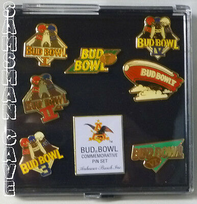 Bud Bowl Commemorative Pin Set