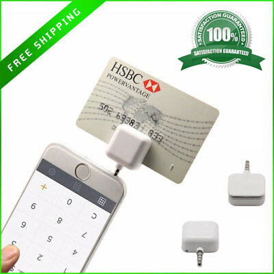 IPad Android Credit Card Reader Magnetic Pay Machine Mobile Payment Receiver