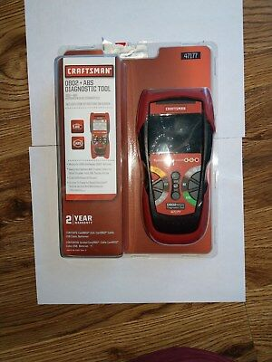 Craftsman 47177 OBD2 + ABS Diagnostic Tool for 1996 - Current Vehicles New!