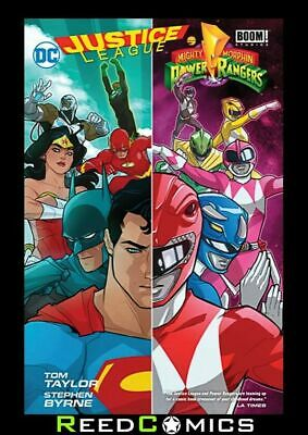 JUSTICE LEAGUE POWER RANGERS HARDCOVER New Hardback Collects 6 Part Series