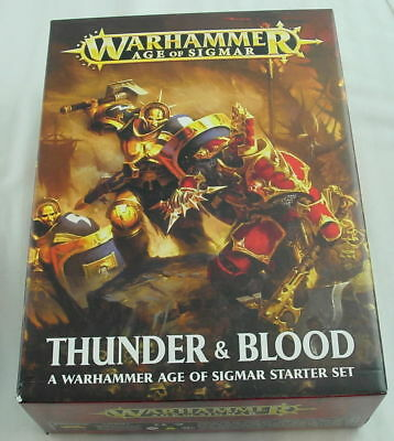 Warhammer Age of Sigmar: Thunder & Blood Starter Set by Games Workshop GAW80-19