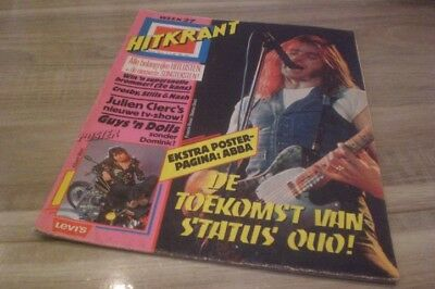 Hitkrant 1977 Status Quo /ABBA/ Baccara/ Queen
